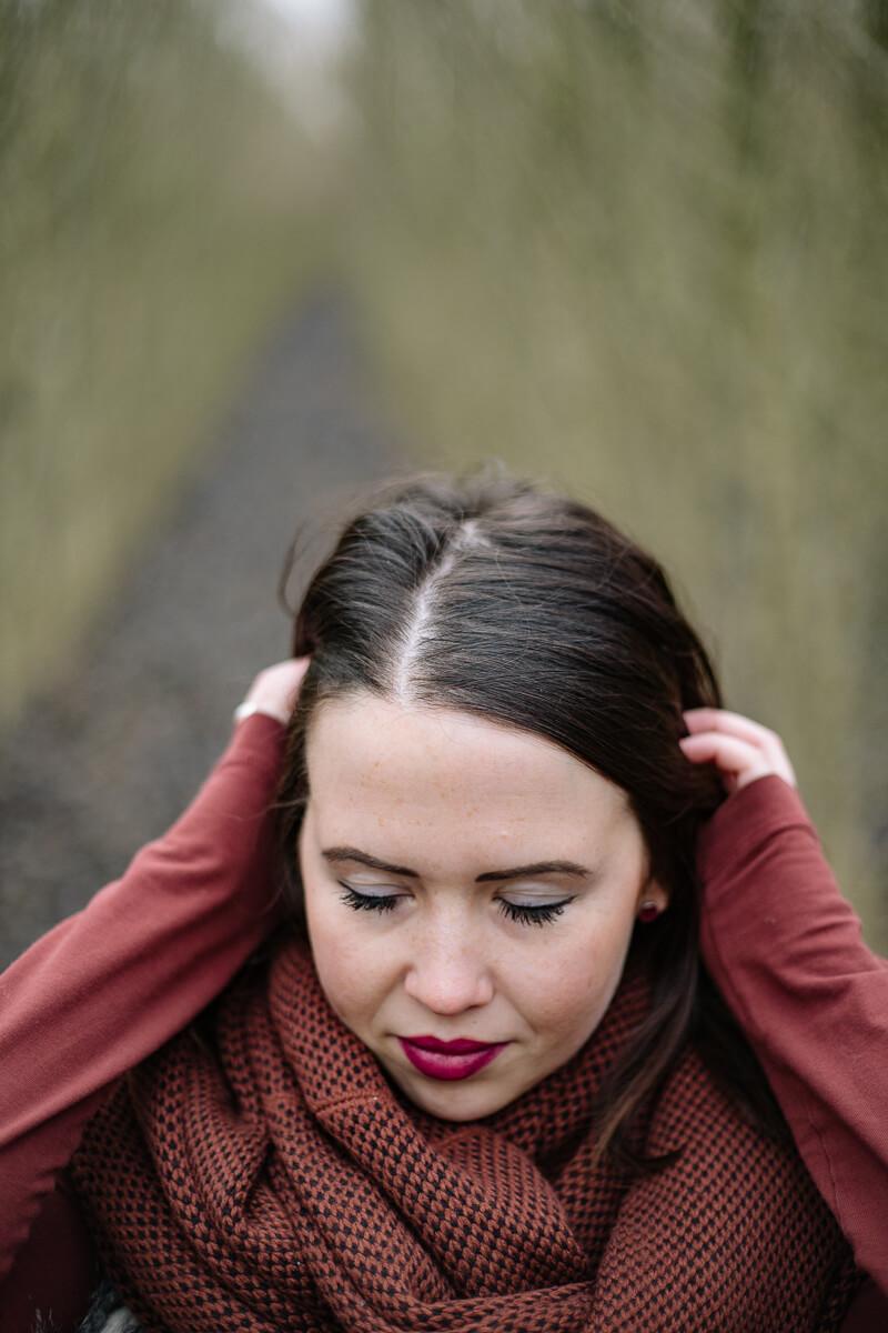 Hochzeitsfotograf Franken Portrait Anja 011 - geschichten, blog, bestof - Shooting, Portraitshooting, Portrait, Outdoor, Herbst, friedaundgretchen, Fränkische Schweiz, Fashion