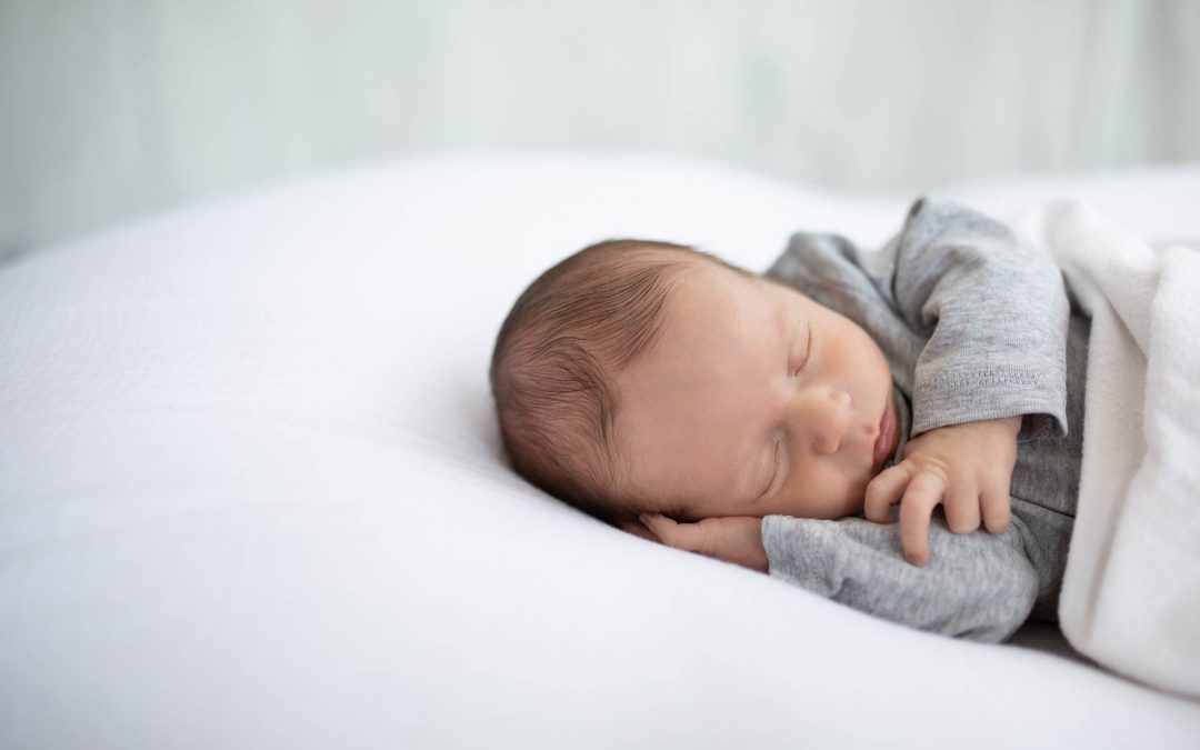 Natürliche Babyfotografie im Studio bei Pegnitz